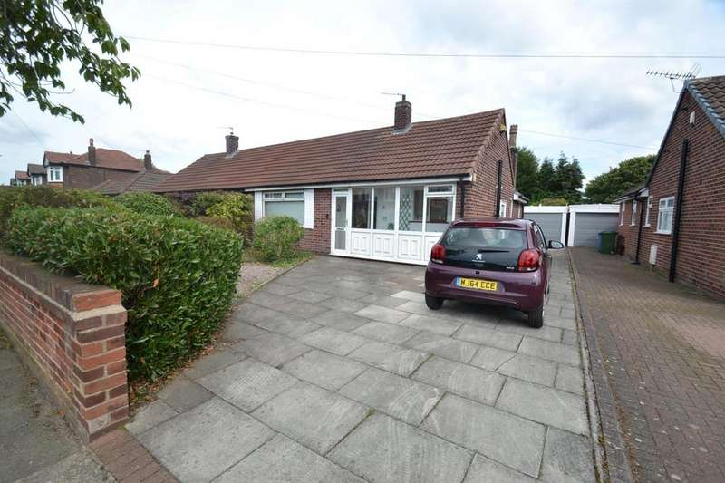 2 Bedrooms Semi Detached Bungalow for sale in Barwell Road, Sale