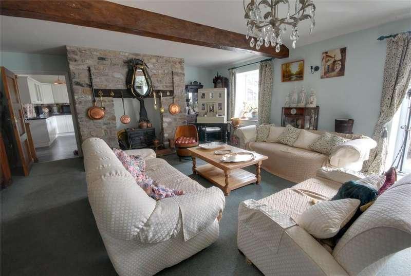 5 Bedrooms Terraced House for sale in Old Coach Road, CROSS, Axbridge, Somerset, BS26