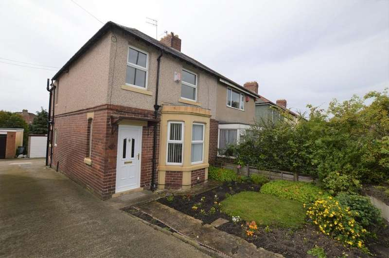 3 Bedrooms Semi Detached House for sale in Reasby Villas, Ryton