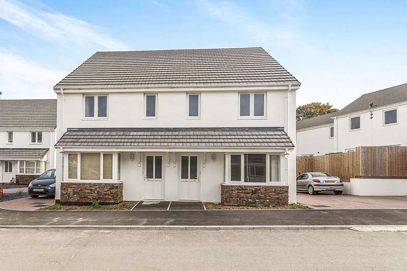 3 Bedrooms Semi Detached House for sale in Copper Meadows, Gwinear, Hayle, TR27