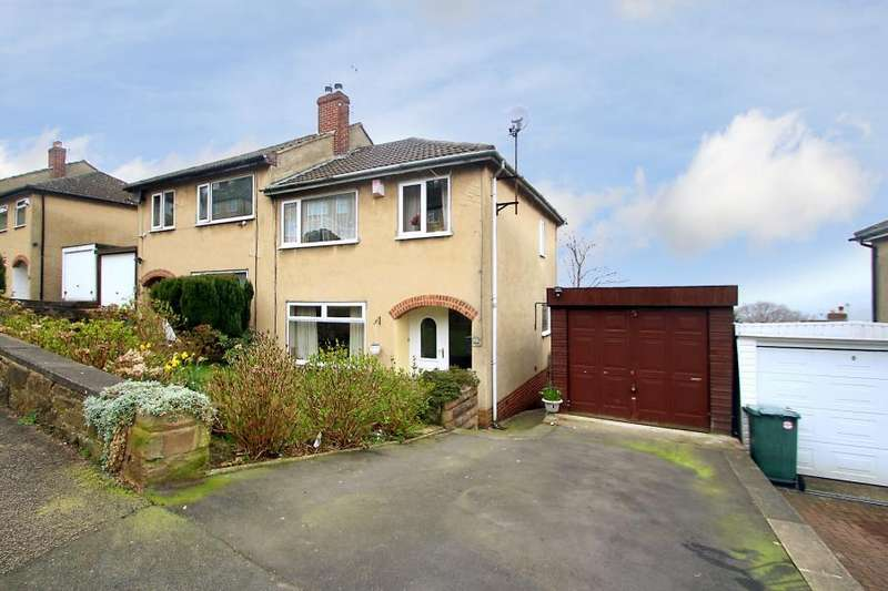 3 Bedrooms Semi Detached House for sale in NAB WOOD DRIVE, SHIPLEY, BD18 4EW