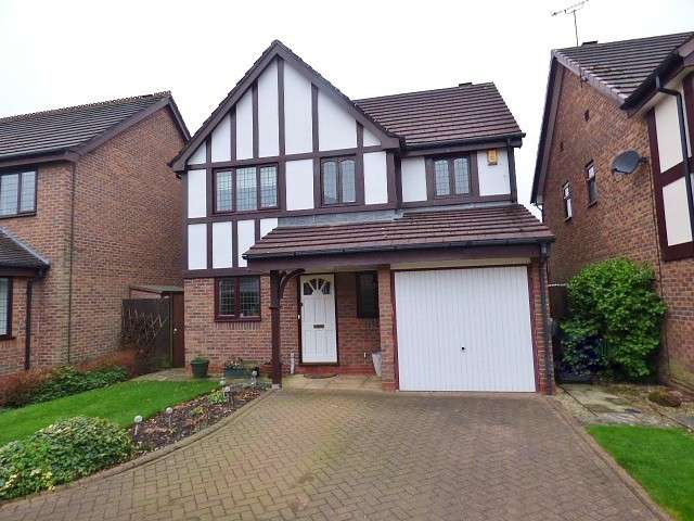 3 Bedrooms Detached House for sale in Buxton Close, Great Sankey, Warrington