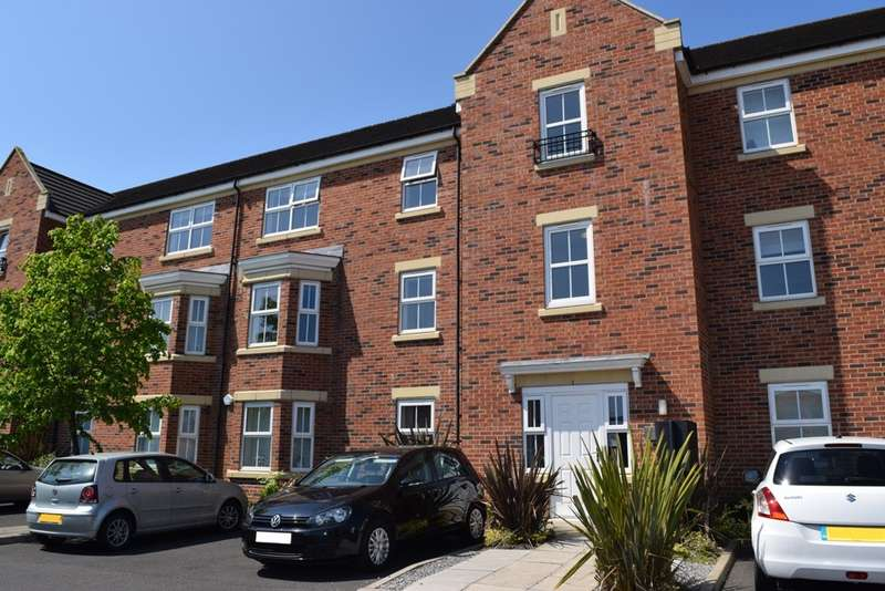 2 Bedrooms Apartment Flat for sale in Sidings Place, Fencehouses, Durham