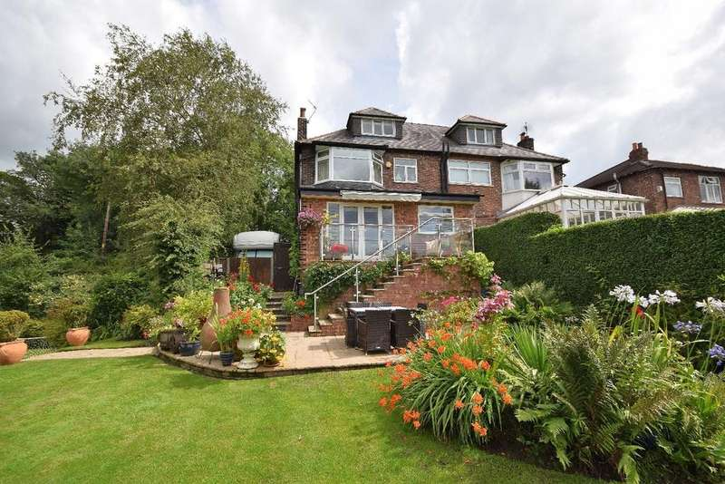 4 Bedrooms Semi Detached House for sale in London Road North, Poynton
