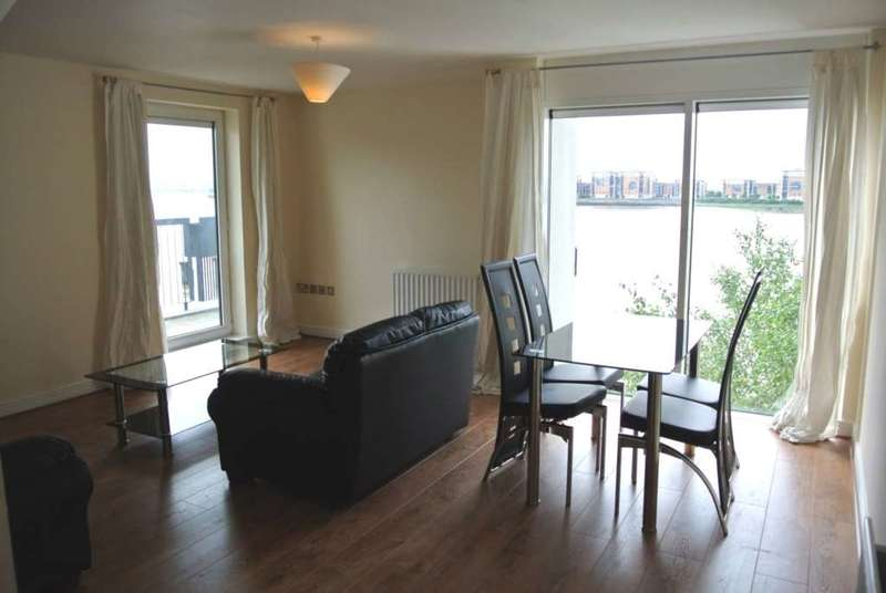 2 Bedrooms Flat for rent in Erebus Drive, Royal Artillery Quays, Thamesmead West