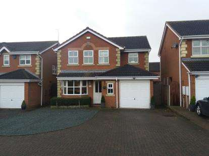 4 Bedrooms Detached House for sale in Ironstone Road, Chase Terrace