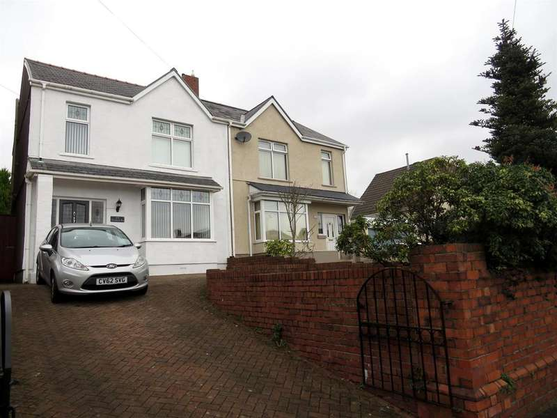 3 Bedrooms Semi Detached House for sale in Vicarage Road, Morriston, Swansea
