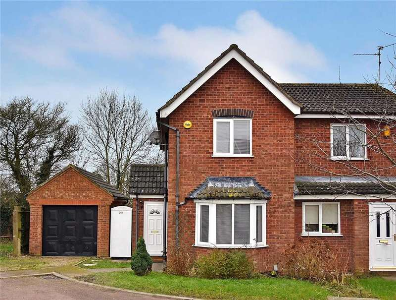 2 Bedrooms Semi Detached House for rent in Dale Avenue, Wellingborough, NN8 3QT