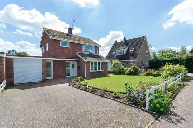 3 Bedrooms Detached House for sale in 2 Wensum Drive, North Elmham