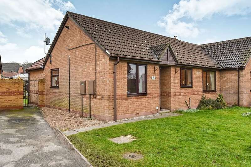 3 Bedrooms Semi Detached Bungalow for sale in Melton Court, Riddings, Alfreton, DE55