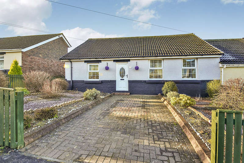 2 Bedrooms Semi Detached Bungalow for sale in Beech Terrace, Craghead, Stanley, DH9