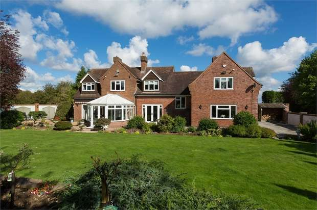 5 Bedrooms Detached House for sale in Sutton Maddock, Shifnal, Shropshire