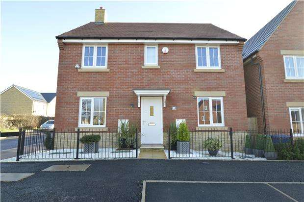 4 Bedrooms Detached House for sale in Little Grebe Road, Bishops Cleeve, Cheltenham, Glos, GL52 8HR