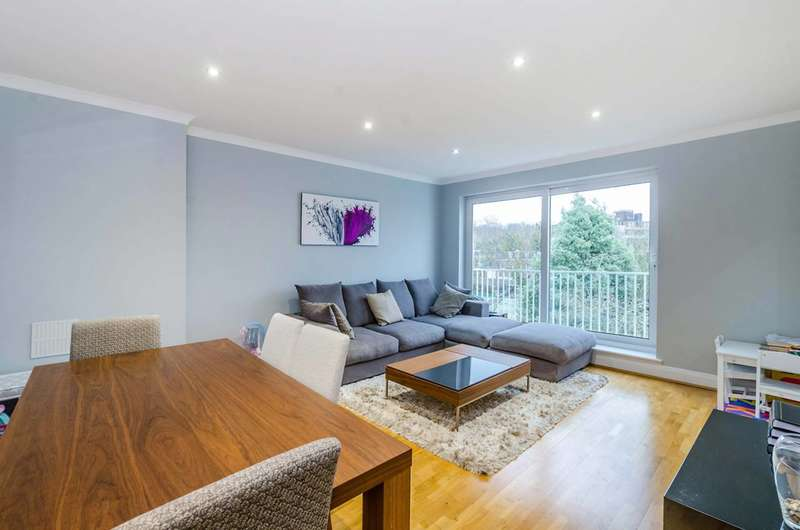 2 Bedrooms Flat for sale in Crediton Hill, West Hampstead, NW6