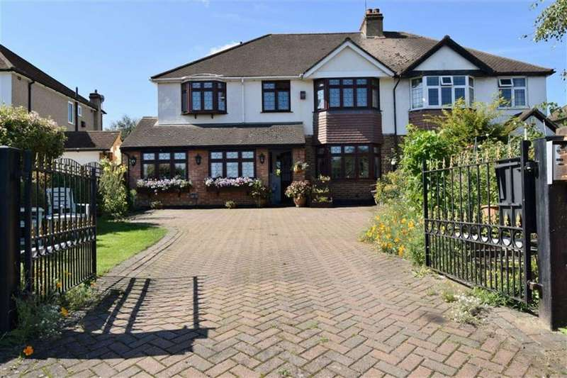 5 Bedrooms Semi Detached House for sale in Sandown, London Road, BR8