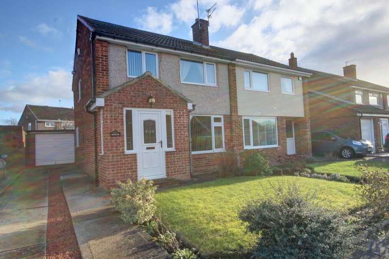 3 Bedrooms Semi Detached House for sale in Hutton Close, Houghton Le Spring, DH4