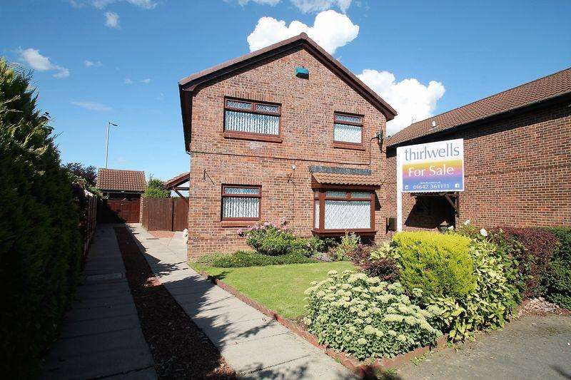 4 Bedrooms Detached House for sale in Ribble Close, Billingham