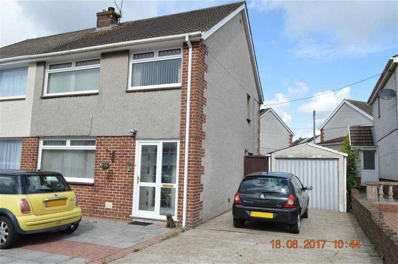 3 Bedrooms Semi Detached House for sale in Dyffryn Road, Swansea, SA4