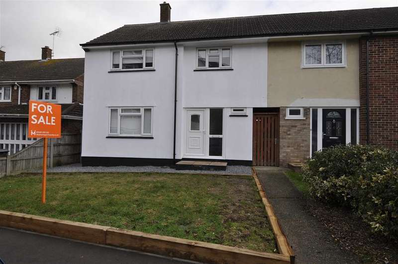 3 Bedrooms End Of Terrace House for sale in Mascalls Way, Chelmsford