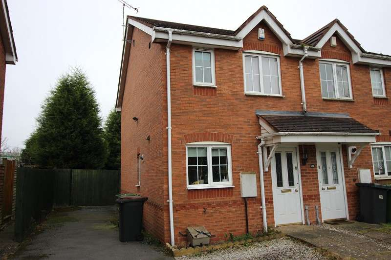 2 Bedrooms End Of Terrace House for sale in Stone Meadow, Village on the Green, Keresley, Coventry, CV7 8RB