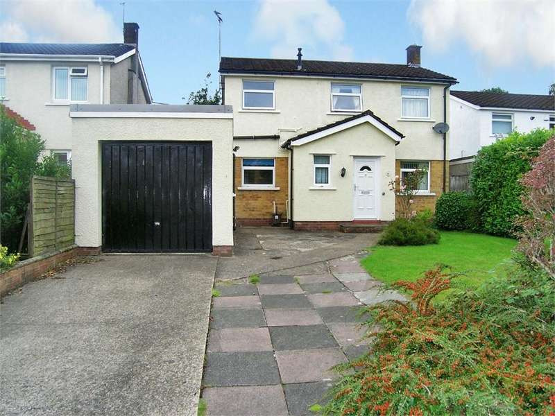 3 Bedrooms Detached House for sale in Rheidol Close, Llanishen, Cardiff