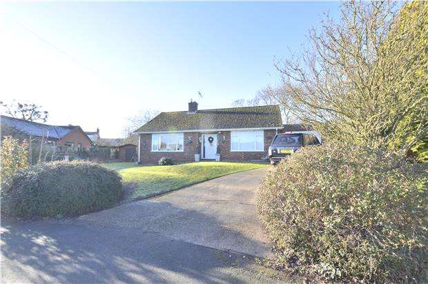 2 Bedrooms Detached Bungalow for sale in Sunnymead, Naunton, Upton-Upon-Severn, WORCESTER, WR8 0PY