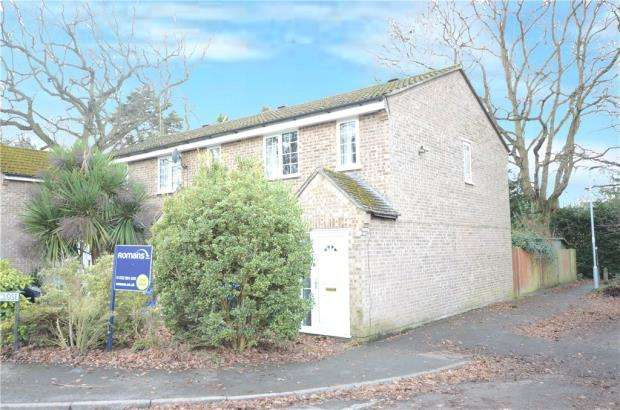 3 Bedrooms End Of Terrace House for sale in Severn Close, Sandhurst, Berkshire