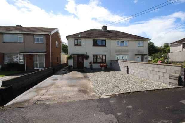 3 Bedrooms Semi Detached House for sale in Woodfield Road, Ammanford, Dyfed, SA18 3UT