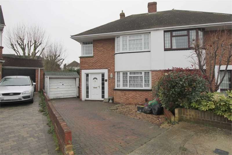 3 Bedrooms House for sale in Nore Close, Gillingham