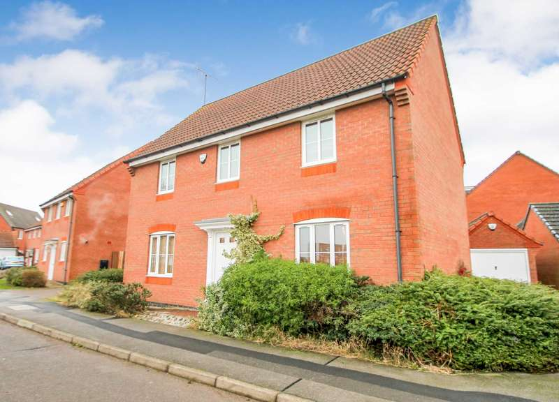 4 Bedrooms Detached House for sale in Springfield Road, Rushden