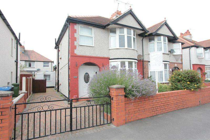3 Bedrooms Semi Detached House for sale in Terence Avenue, Rhyl