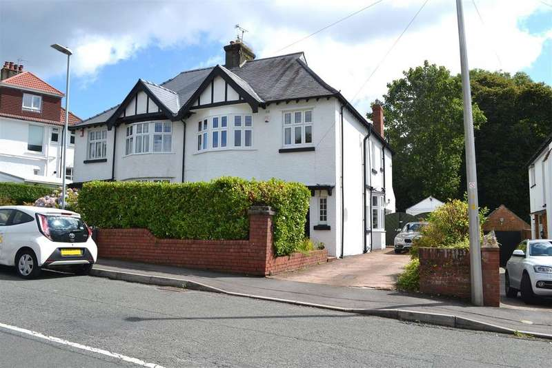 4 Bedrooms Detached House for sale in Pen Yr Heol Drive, Sketty, Swansea