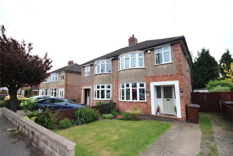 3 Bedrooms Semi Detached House for sale in Western Crescent, Lincoln, LN6