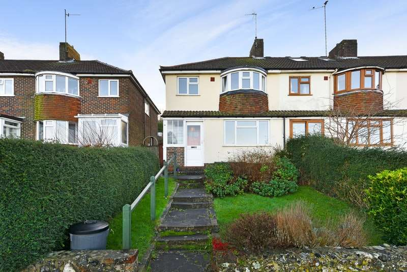 3 Bedrooms Semi Detached House for sale in Malling Down, Lewes, East Sussex, BN7