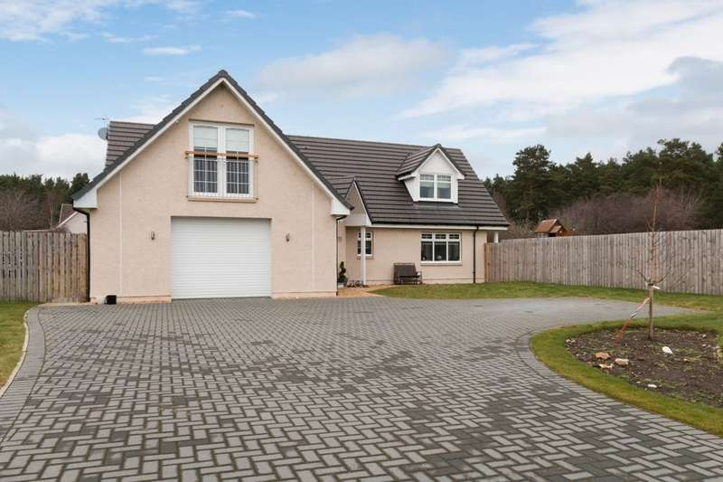 4 Bedrooms Detached House for sale in Blackstob Way, Kinloss, Forres, IV36