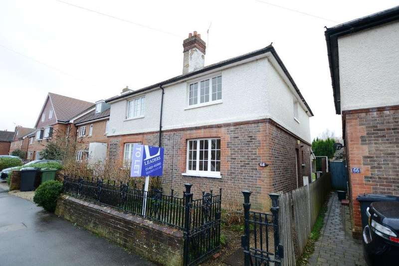 2 Bedrooms End Of Terrace House for rent in Station Road, Shalford, Guildford