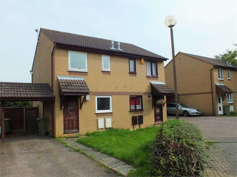 2 Bedrooms Semi Detached House for rent in Kidd Close, Crownhill
