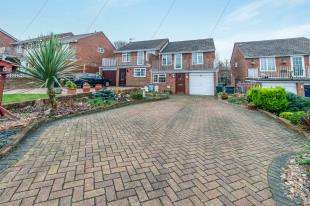 3 Bedrooms Semi Detached House for sale in Kemsley Close, Greenhithe, Dartford, Kent