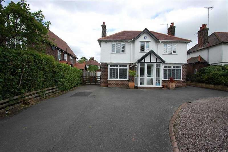 3 Bedrooms Detached House for sale in Grange Road, Bramhall, Cheshire