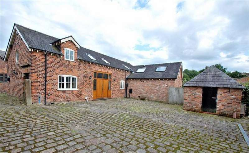 4 Bedrooms Detached House for sale in Old Hall Lane, Woodford, Cheshire
