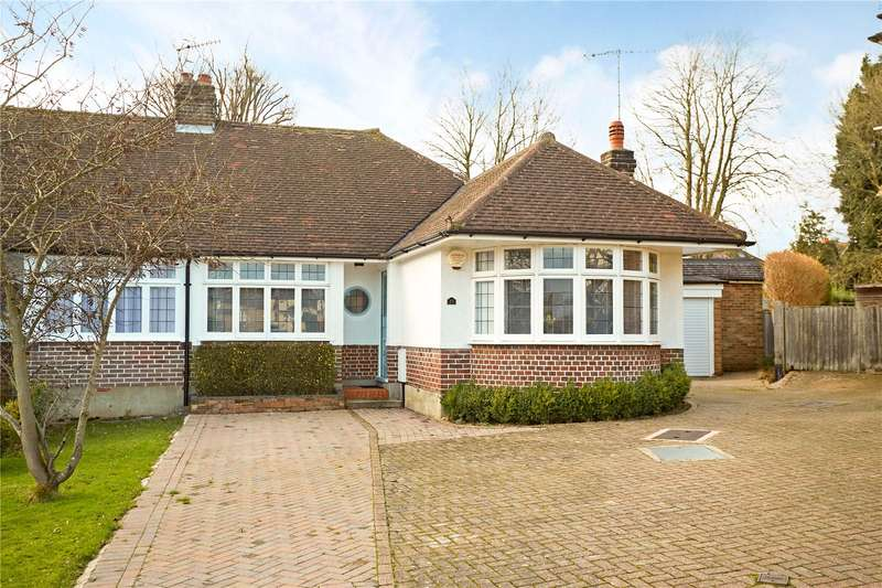 2 Bedrooms Semi Detached Bungalow for sale in Broadhurst Gardens, Reigate, Surrey, RH2