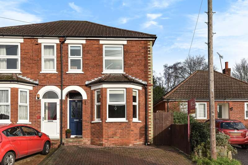 3 Bedrooms Semi Detached House for sale in Cambridge Road, Crowthorne, RG45