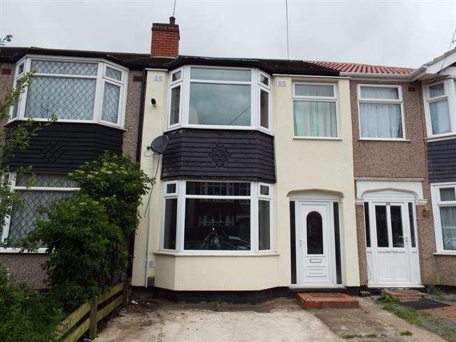 3 Bedrooms Terraced House for sale in Treherne Road, Coventry CV6