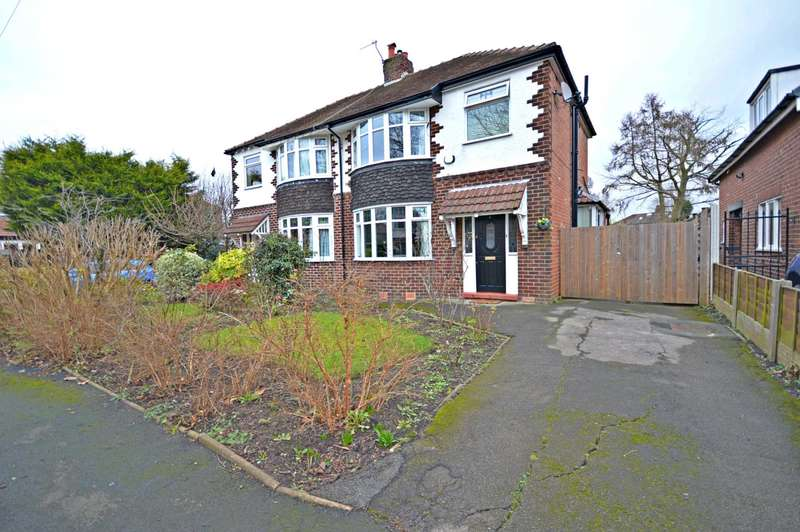 3 Bedrooms Semi Detached House for sale in Lorna Road, Cheadle Hulme