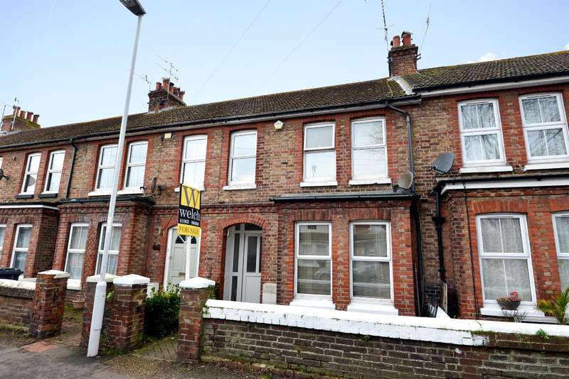 3 Bedrooms Terraced House for sale in Lanfranc Road, Worthing, West Sussex, BN14 7ES