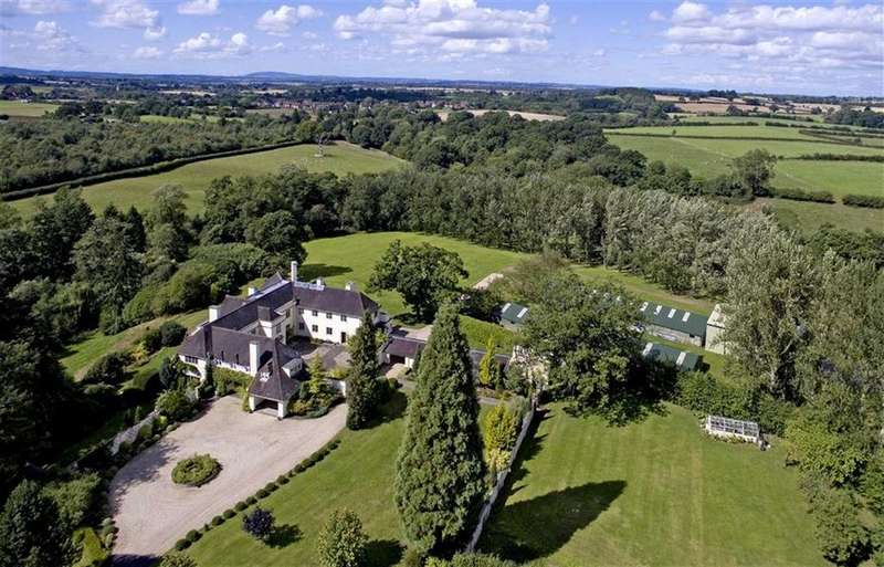 7 Bedrooms Detached House for sale in Brook House, Heathton, Claverley, Wolverhampton, Shropshire, WV5