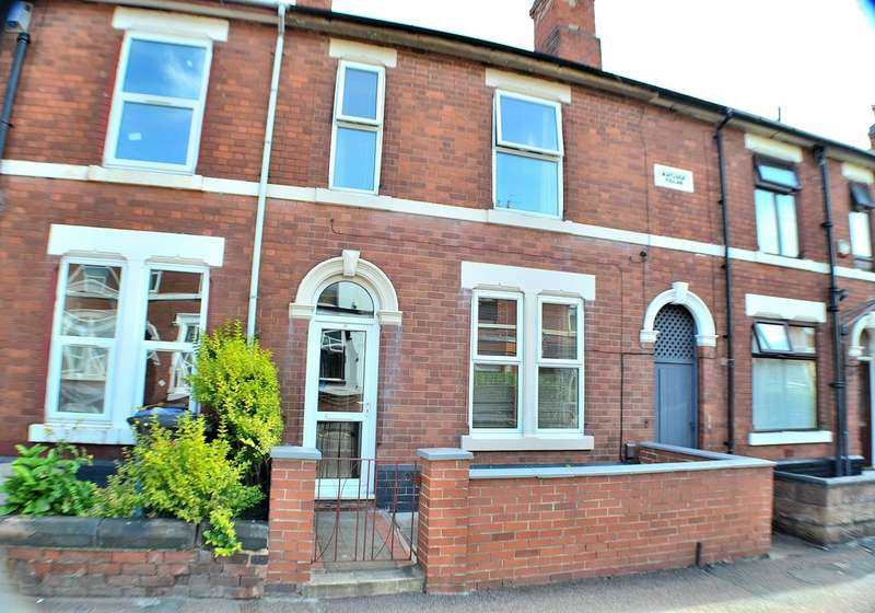 2 Bedrooms Terraced House for sale in St Chads Road, Derby DE23