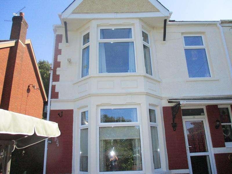 3 Bedrooms Semi Detached House for sale in Pentwyn Baglan Road, Baglan, Port Talbot, Neath Port Talbot.