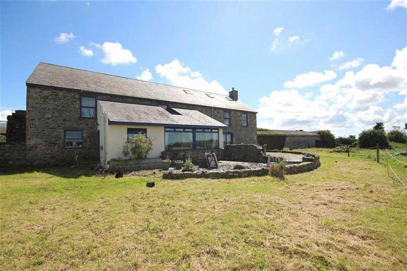 5 Bedrooms Barn Conversion Character Property for sale in Brynsiencyn, Anglesey, LL61
