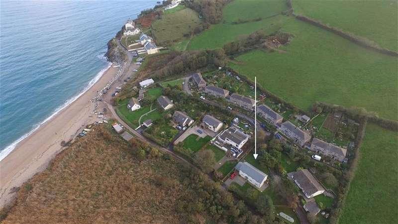 4 Bedrooms Detached House for sale in Hallsands, Kingsbridge, Devon, TQ7